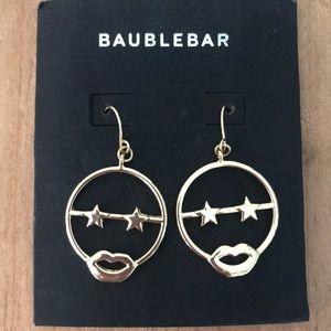 Cute baublebar emoji dangle earrings